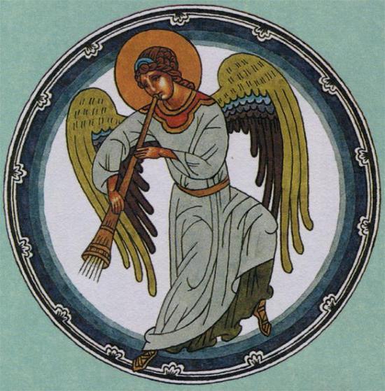 печать идт и смотри и вострубили ангел конь народ бережно чтит